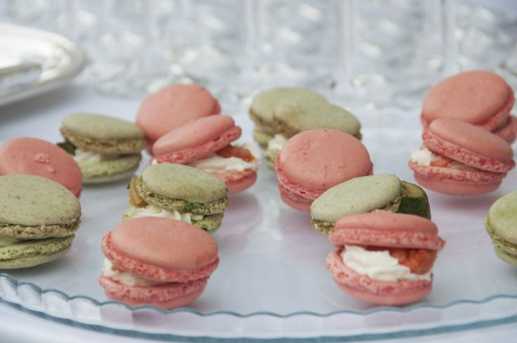 Savoury Macaroons with salmon and Pistacchio #guidilenci. All Rights Reserved GUIDI LENCI www.guidilenci.com