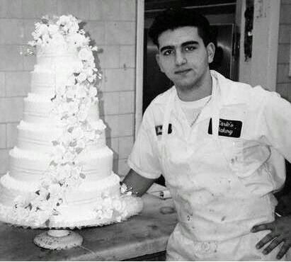 Buddy Valastro From the Cake Boss. Oh my gosh he's so young!!!!!