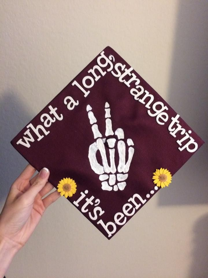 Grateful Dead lyrics graduation cap