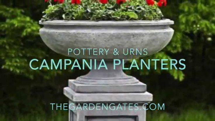 Campania Planters - TheGardenGates.com
