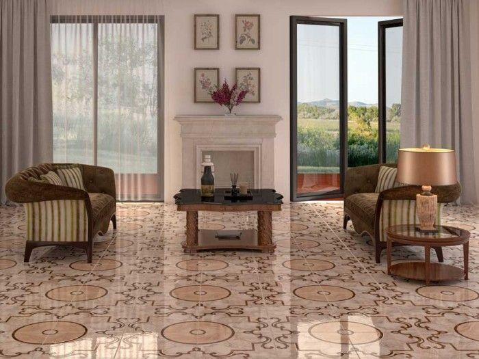 Capitol Peach Floor Tile | CTM
