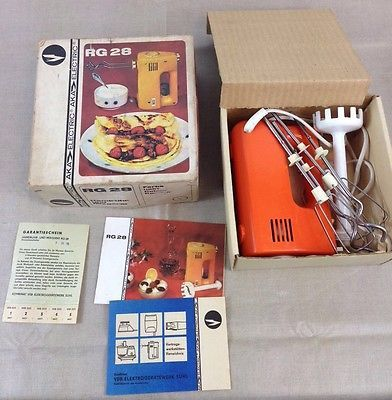AKA Mixer RG 28 DDR Ostalgie Küche Handrührgerät