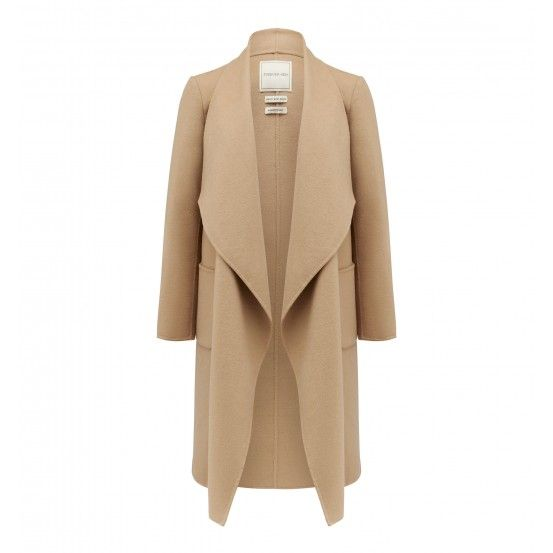 Willow wrap coat. Forever New