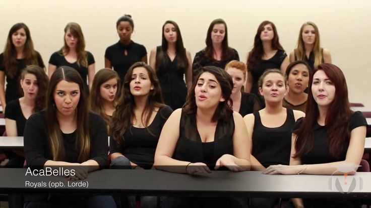 Florida State University AcaBelles - Royals (opb. Lorde)  LOVE IT LADIES!