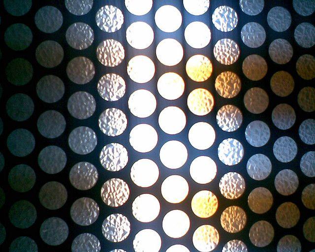 Trama (del techo del ascensor del HUHMP)