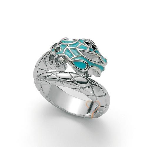 Δαχτυλίδι Just Cavalli Dragon Silver Plated - BeMine.gr