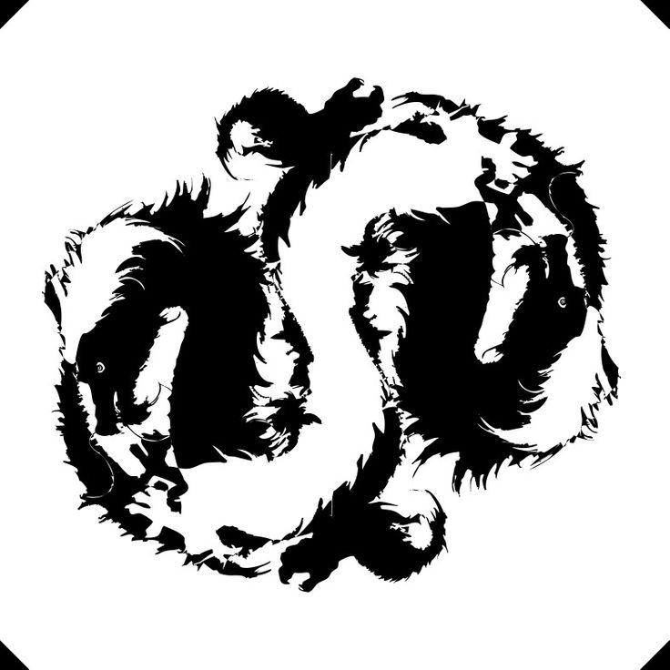 """Yin Yang Dragon"" www.gigarte.com/lucianocaggianello"