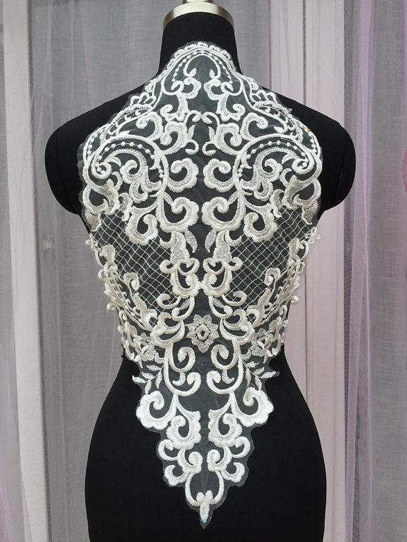 1pc Super Luxury Lace Appliques Black Exquisite Wedding Bridal Veil Gown