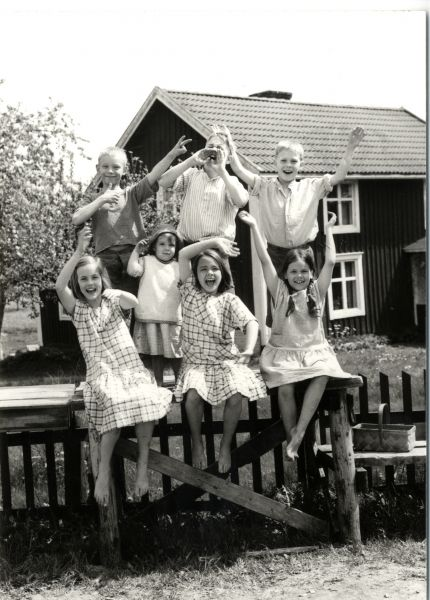 A list of Astrid Lindgren films...this photo is from The Children of Noisy Village