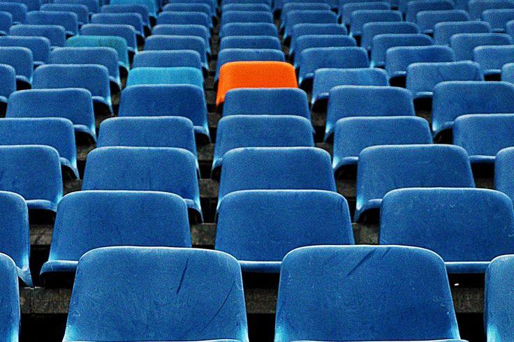 blue and orange by Ziggi Funke