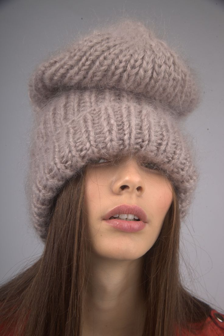 Hat Double hat, mohair in the store «LOLA. ME »Lambada to-market