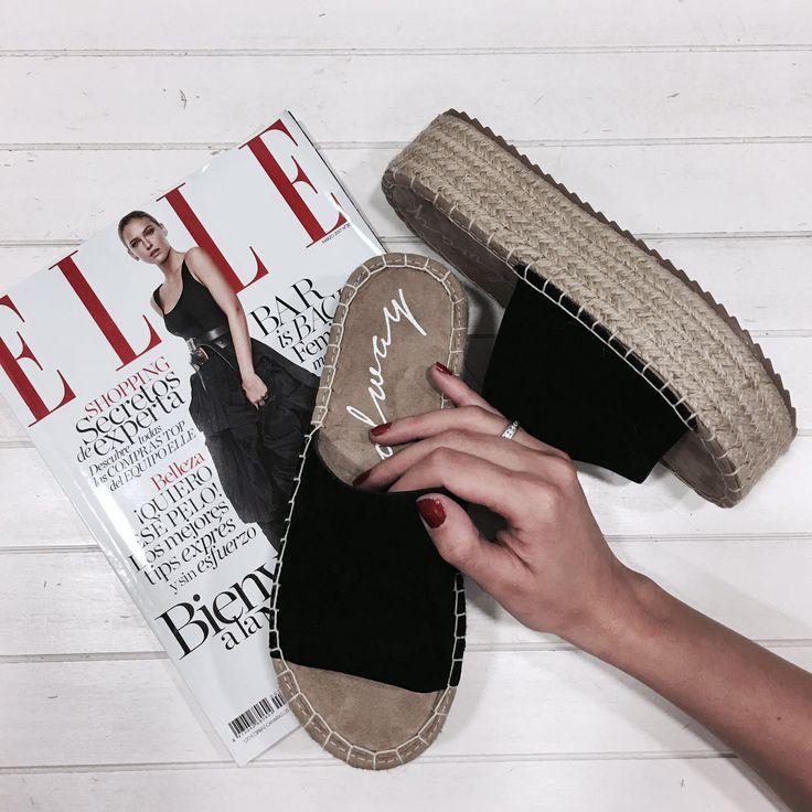 ¡A la moda! Con las nuevas #sandalias bio de Coolway. Altura de 5cm y comodidad.