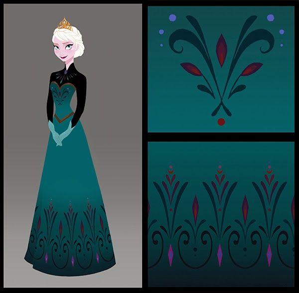 Brittney Lee: Frozen - Rosemaling