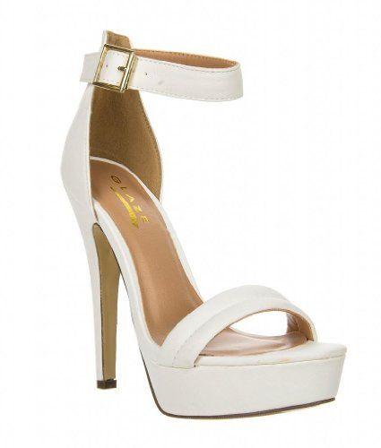 Women's Platform High Heel Ankle Strap Sandal STARBURST-1, Starburst-1 White 5.5 Glaze http://www.amazon.com/dp/B00IE2FLFA/ref=cm_sw_r_pi_dp_NYFlub1NGPSZQ