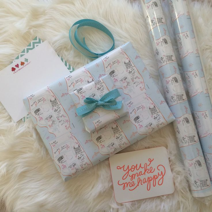 Palm Beach  wrapping paper