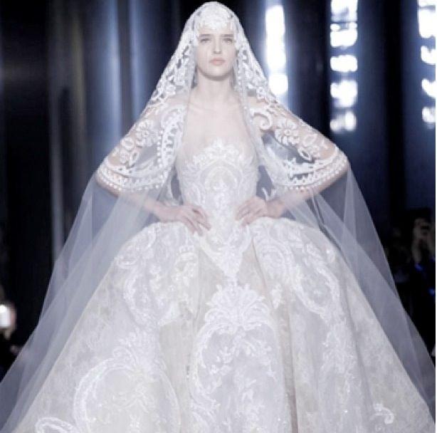 Elie Saab bride dress