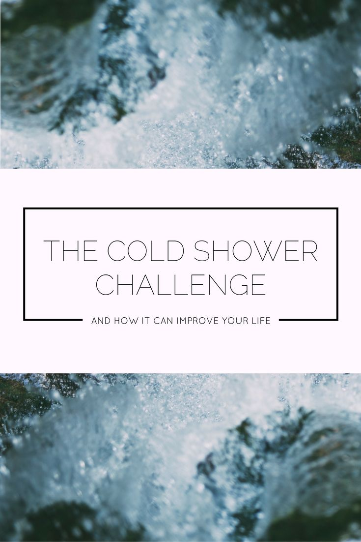 The Cold Shower Challenge Can Seriously Improve Your Life, I Promise!