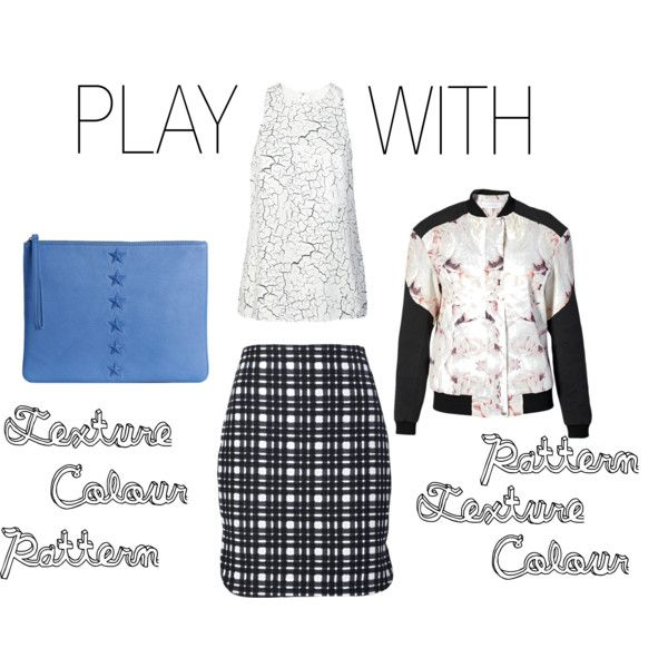 """""""Play With Texture"""" by shopeluxe on Polyvore"""