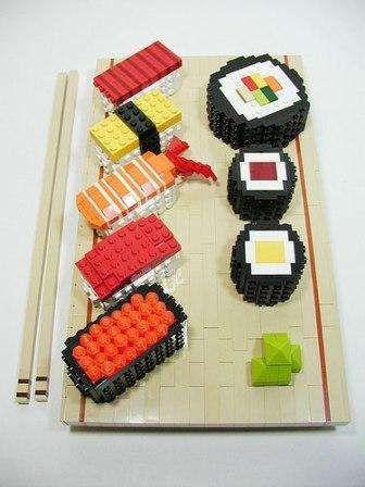 Lego Sushi - The Work of Nathan Sawaya (GALLERY)