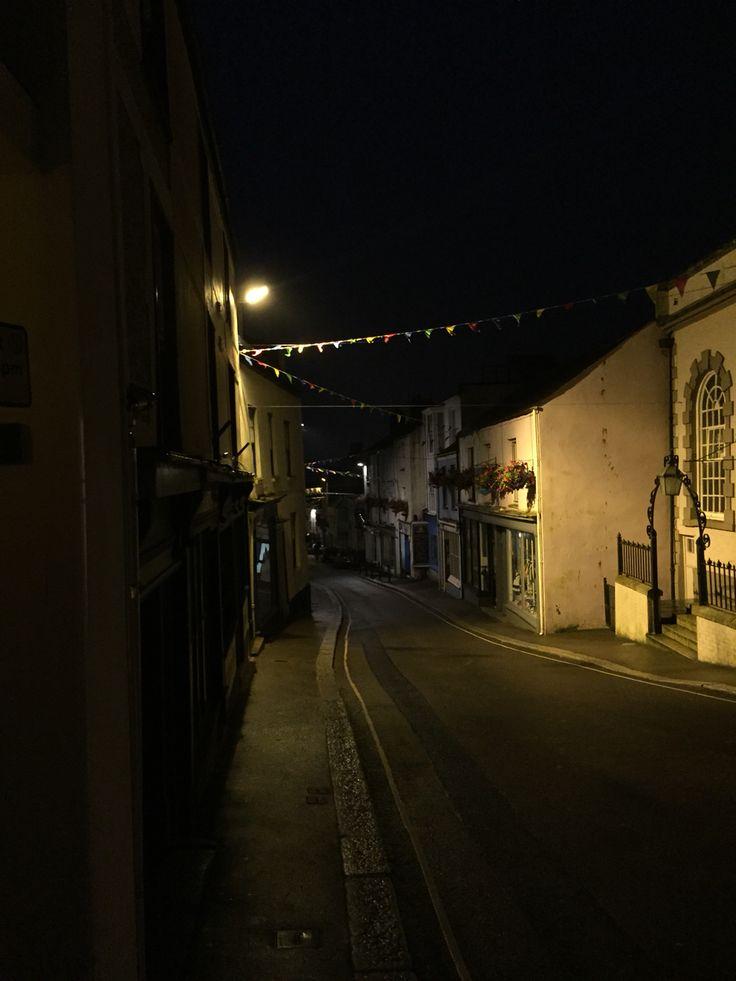 Falmouth at night