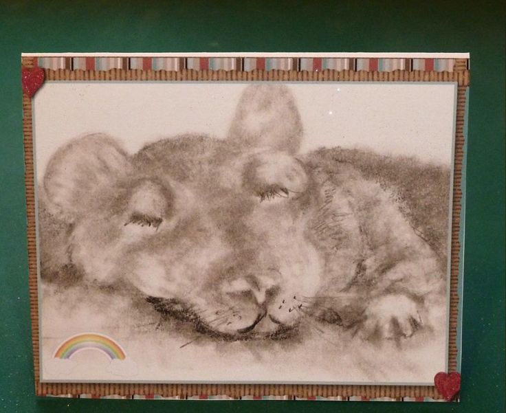 Pet Sympathy Card by SouthamptonCreations on Etsy