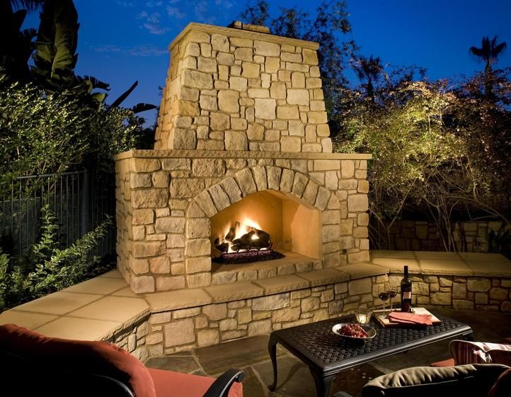 23 best Outdoor Fireplaces images on Pinterest | Outdoor kitchens ...