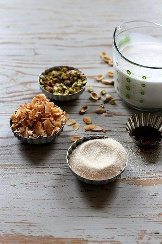 Pistachio Meringues With Toasted Coconut Recipes — Dishmaps