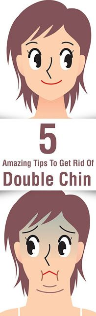 5 AMAZING FACTS TIPS TO GET RID OF A DOUBLE CHIN