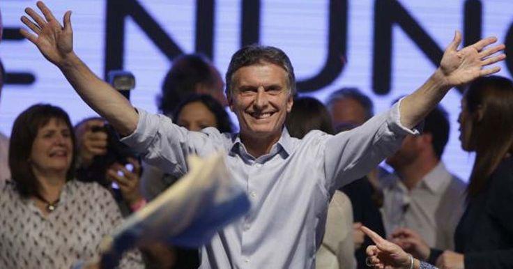 Oposição vence na Argentina, Mauricio Macri é o novo Presidente