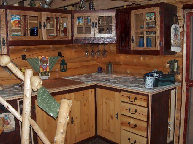 Kitchen 650×486 Pixels. Log Cabin ...