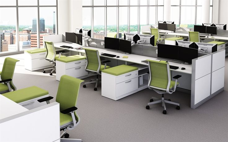 Steelcase - Montage Benching Desks