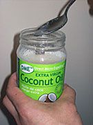 virgin coconut oil and lauric acid