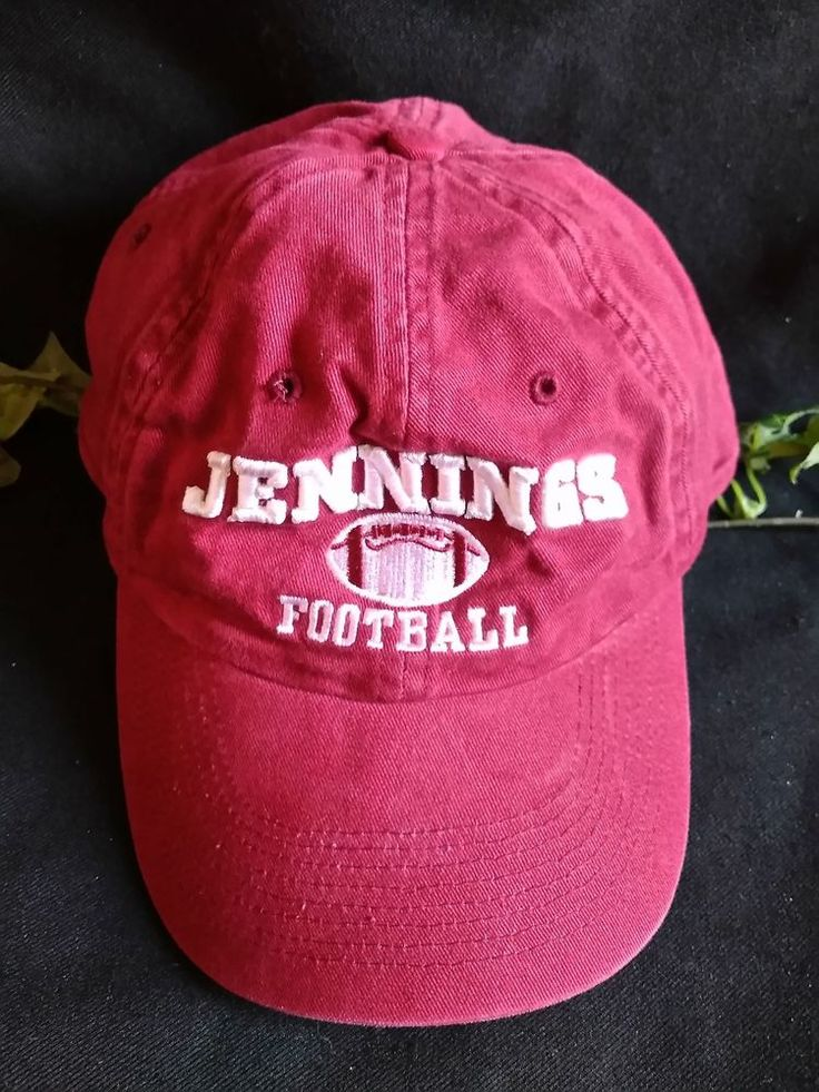 $9.96 or best offer Jennings Football Cap Hat Adjustable Headwear By The Game #TheGame #BaseballCap