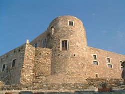 Naxos' castle-archaeological museum, worked there once upon a time, on the third basement...