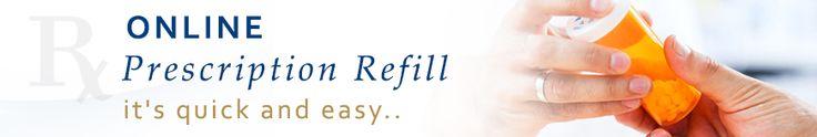 Easy #Online Prescription #Refills