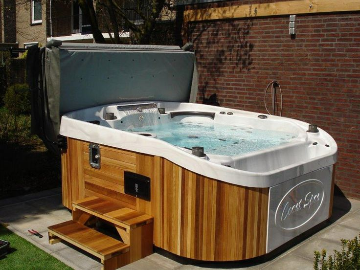 44 best design ideas for your hot tub jacuzzi images on. Black Bedroom Furniture Sets. Home Design Ideas