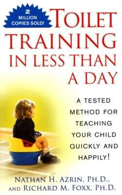 Azrin & Foxx's applied behavior analytic approach to potty training. Need to get the book! EDIT: potty-trained my 26-month-old daughter using this technique. A little technical and rigid, but well worth it (It took us about 2 days)