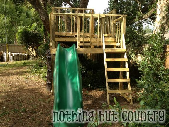 DIY Tree House / Club House | Nothing But Country