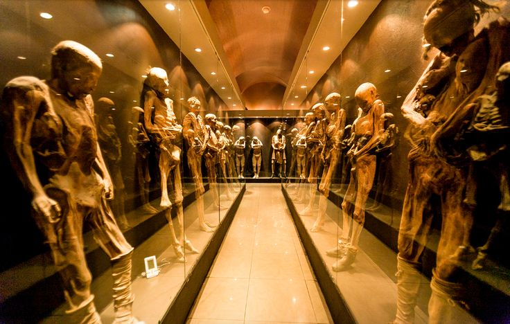 Museo de las Momias, Guanajuato, México.