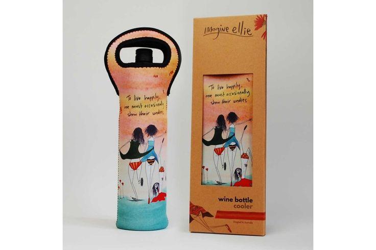 Imagine Ellie Wine Bottle Cooler. Perfect for picnics!