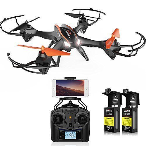 Drone Camera WiFi FPV For Beginners Kids Adults Christmas Birthday Gift Fun NEW DroneCameraWiFiFPV Surveillance