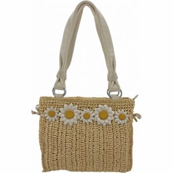 Adorable Brighton Daisy May Straw Purse