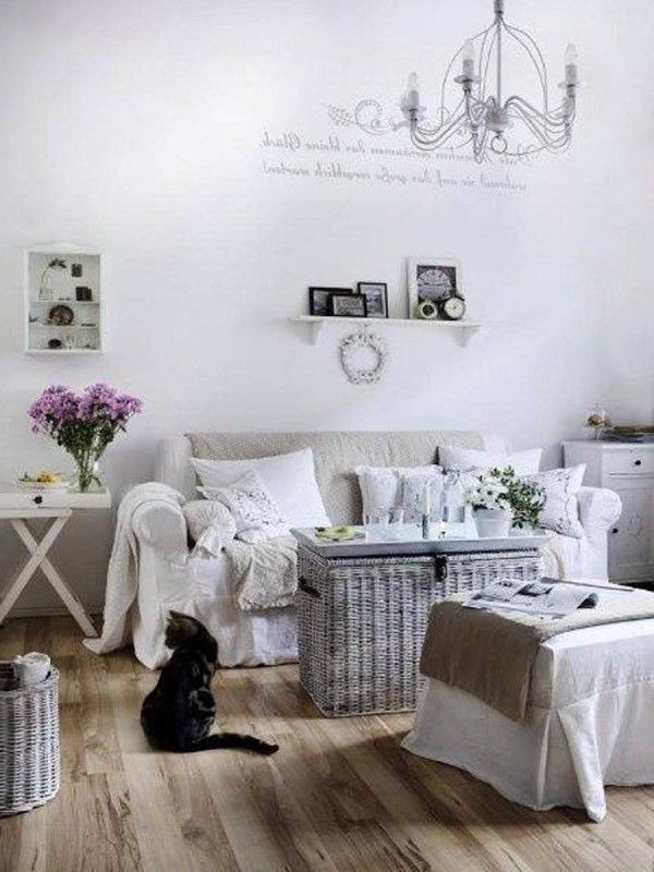 95 best images about living room on pinterest for Modern shabby chic living room ideas