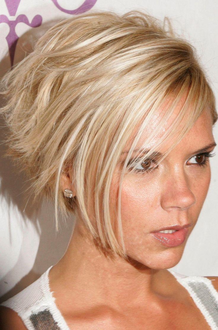 6 Coupe Courte Blonde Victoria Beckham Dernier En Images Coiffures Victoria Beckham 40 Ans Et ...