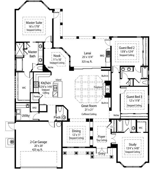 17 Best Images About Florida House Plans On Pinterest