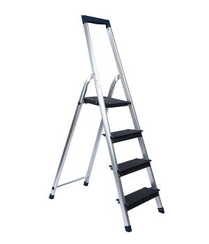 Ozone Handy 3 Step Aluminium Ladder + Platform with Tool Tray @ Rs.1,499/- (63% OFF)