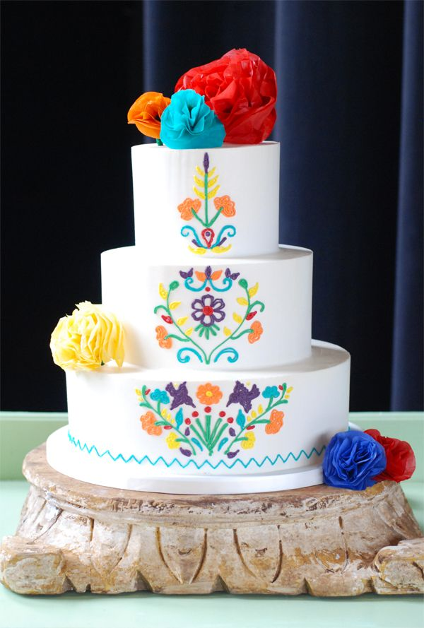 mexican wedding cake  Google Search  PARTY like a Rock Star  Quinceanera cakes Buttercream