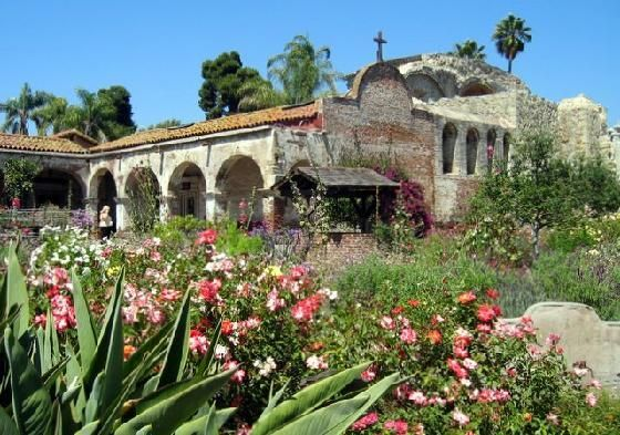 #5 Mission San Juan Capistrano! Today, the Mission is a monument to California's multi-cultural history. Discovery many areas of interest throughout 10 acres of lush gardens and cool fountains, surrounded by adobe walls.