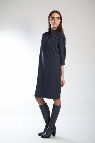 Строгий прямой крой делает это платье универсальными, поэтому его можно надевать практически по любому случаю. #SvetlanaBekareva