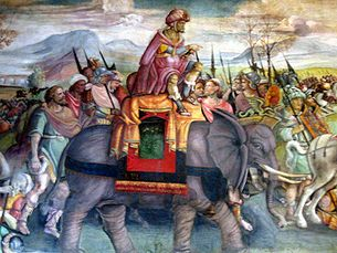 """The Punic Wars were a series of three wars fought between Rome and Carthage from 264 BC to 146 BC. At the time, they were probably the largest wars that had ever taken place. The term Punic comes from the Latin word Punicus (or Poenicus), meaning """"Carthaginian"""", with reference to the Carthaginians' Phoenician ancestry."""